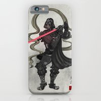 iPhone & iPod Case featuring Darth Samurai by happiestfung
