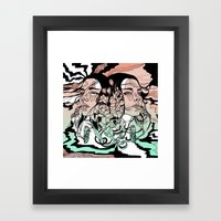 Warm of the Cool Framed Art Print