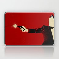 Laptop & iPad Skin featuring The Double Agent by The Art Of Danny Haa…