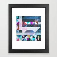 yce lyvyl Framed Art Print