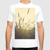 Belar Sikue Mens Fitted Tee White SMALL