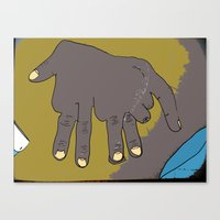 Handephant Canvas Print