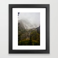 A Valley in the Tetons Framed Art Print