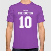 Team Tennant Mens Fitted Tee Ultraviolet SMALL