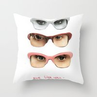 Eye like you Throw Pillow