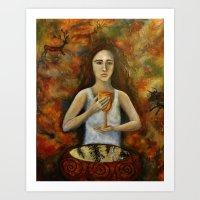 Vision and Memory Art Print