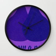 Grow a Pear Wall Clock