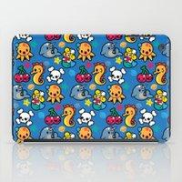 Sea pattern 01 iPad Case
