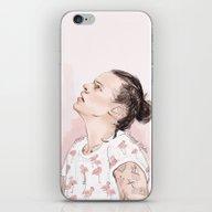 Harry Flamingo iPhone & iPod Skin
