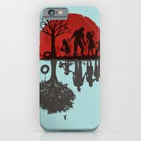 iPhone Cases featuring A Family Once by Jay Fleck