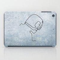 One Line Dredd iPad Case