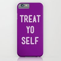 Treat Yo Self Purple - Parks and Recreation iPhone 6 Slim Case