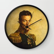 Wall Clock featuring Jean Claude Van Damme - … by Replaceface