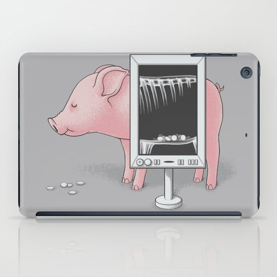 Saving money iPad Case