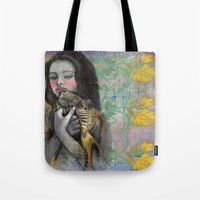 One wish Goldfish Tote Bag
