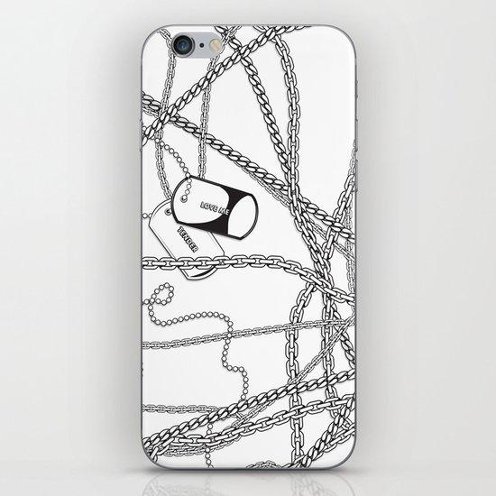 TENDER LOVE iPhone & iPod Skin
