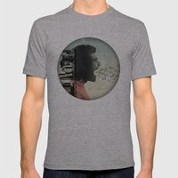 the sound of birds Mens Fitted Tee Athletic Grey SMALL
