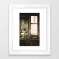 Le Samourai Framed Art Print