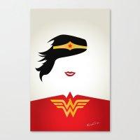 Wonder Girl Canvas Print
