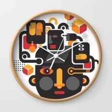 See no evil. Wall Clock