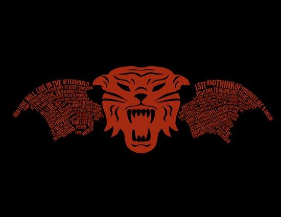 Tiger Army Art Print