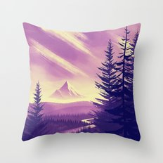 Mt. Hood Throw Pillow