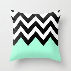 REVERSE COLORBLOCK Throw Pillow