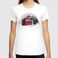 Newcastle I Womens Fitted Tee White SMALL