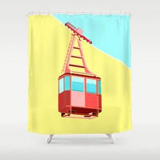 To the Sky Shower Curtain