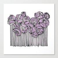 String Bouquet - Lavende… Canvas Print