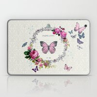 Papillons Laptop & iPad Skin