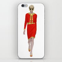 Runway Moschino Girl McDonalds iPhone & iPod Skin