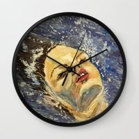 SUR LA MER Wall Clock