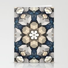 Abstract 3D Cubes Mandala Stationery Cards