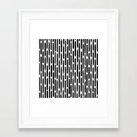 Day 010: Margot's Daily Pattern Framed Art Print