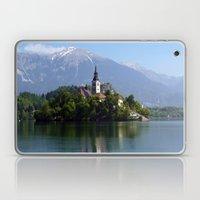 Lake Bled, Slovenia Laptop & iPad Skin
