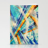 ABSTRACT - Vintage Version Stationery Cards