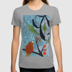 Little Nemo Bird  Womens Fitted Tee Tri-Grey SMALL