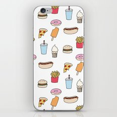 Fast Food iPhone & iPod Skin