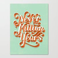 Never In A Million Years Canvas Print