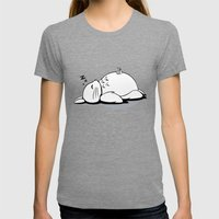 I Love Totoro 2.0  Womens Fitted Tee Tri-Grey SMALL