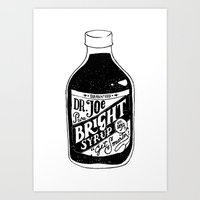 Don't Be Stupid Elixir Art Print