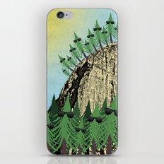 Sunning Trees Print iPhone & iPod Skin