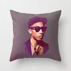 Hip hop poly Throw Pillow