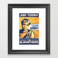 The Blanketeers Framed Art Print