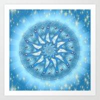 Mandala Energie Art Print