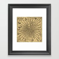Sharp Items Through Hist… Framed Art Print