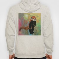 Red Panda Balloon Hoody