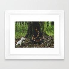 Ruka Framed Art Print