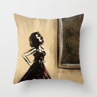 The Museum Of Modern Art Throw Pillow